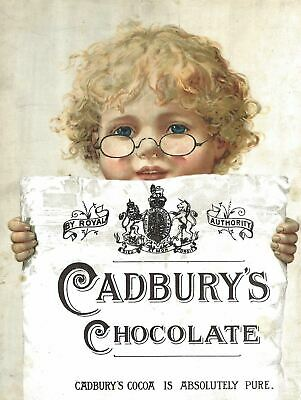£6.99 • Buy Metal Vintage Retro Shabby-chic Tin Sign Cadbury's Wall Plaque Man Cave  Kitchen