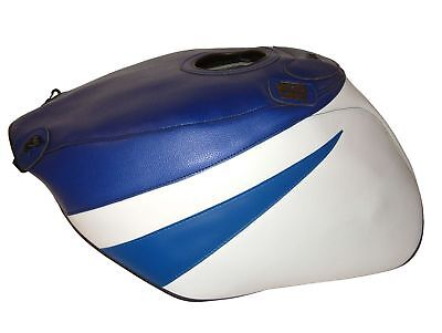 $138.95 • Buy Suzuki GSXR 1000 01-02 Top Sellerie Fuel Petrol Gas Tank Cover Blue White Sport
