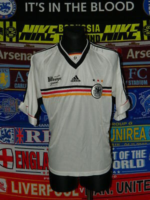 4/5 Germany Deutschland Adults XXL 1998 Retro Rare Football Shirt Jersey Soccer • 32.99£