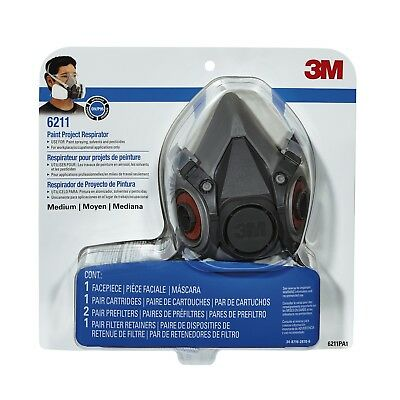 AU92.93 • Buy  3M Safety Paint Project Respirator