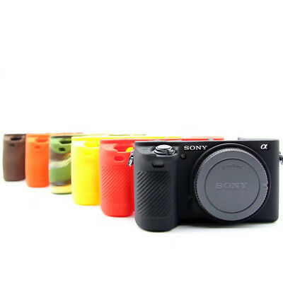 AU13.90 • Buy For Sony A6500 A6300 Soft Silicone Case Camera Bag Body Protective Body Cover