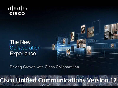 AU53.12 • Buy Cisco Collaboration Voice Lab CCNA CCNP CCIE VMWare Images CUCM CUC CUPS V12