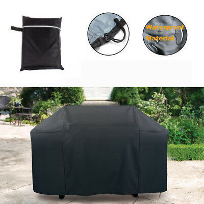 £9.95 • Buy Outdoor BBQ Cover 2/4/6Burner Rain Snow Protect Barbecue Garden Grill Gas Covers