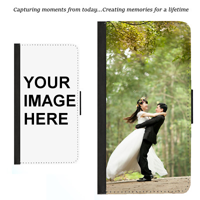 AU17.99 • Buy For Samsung S21 Plus Note 20 9 Ultra Wallet Case Custom Personalised Photo Image