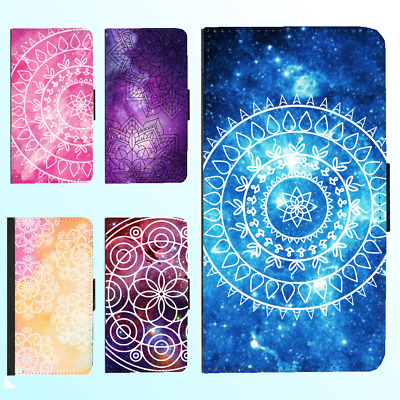 AU13.99 • Buy IPhone X 8 8 Plus 7 6s 6 Plus PU Leather Flip Wallet Case Mandala Floral I Cover