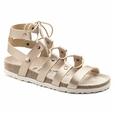 SPECIAL (WAS AU$169) Papillio By Birkenstock CLEO Leather Frosted Metallic Rose • 76.10£