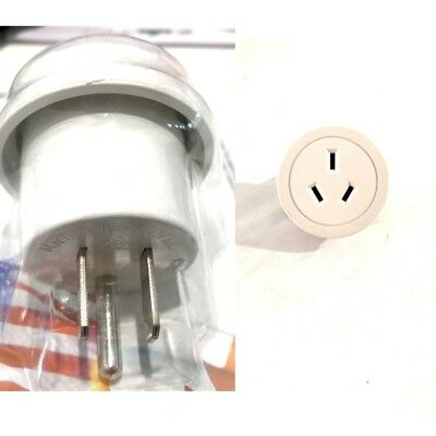 AU12.95 • Buy New Travel Adapter Adaptor Power Socket To Plug Australia AU/NZ To USA/Canada