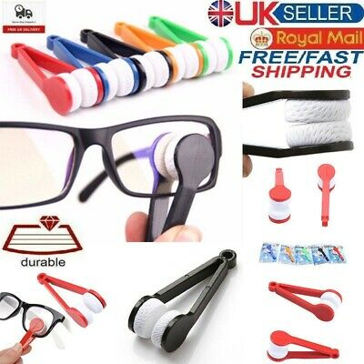 Microfibre Glasses Lens Screen Cleaner Eyeglasses Spectacles Cleaning Cloth Tool • 2.29£