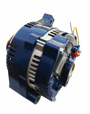 $ CDN235.54 • Buy Alternator For Ford Mustang One Wire Blue 1-Wire High Output 250 Amps 1965-1996