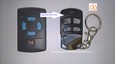 £18.99 • Buy Hormann Hse2 Hsm4 Blue Impulse4 Button Remote Duplicator Made In Eu Ce Approved