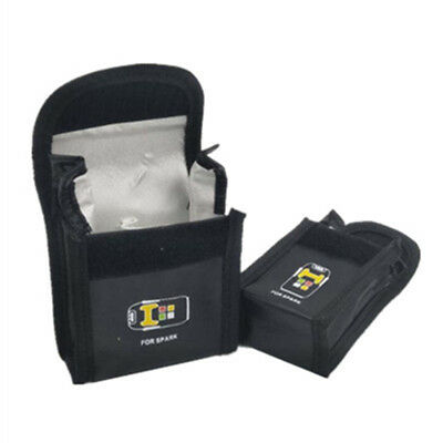 AU6 • Buy 1PC Protective Case For DJI SPARK Drone Fire-proof Lipo Battery Safe Guard Bag