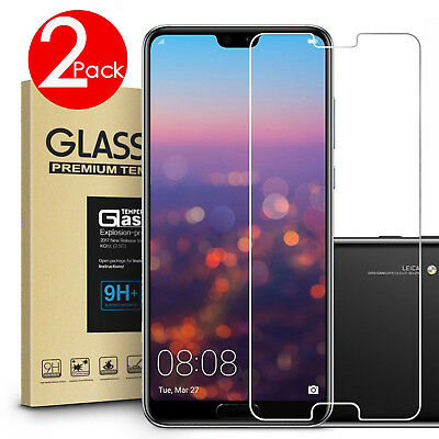 AU4.49 • Buy 2 PACK 9H Tempered Glass Screen Protector For HUAWEI P30 Nova 5T 3e 3i 2 Lite