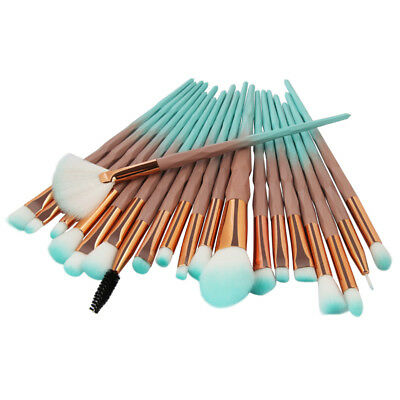 AU12.97 • Buy 20pcs Unicorn Makeup Brushes Set Foundation Powder Eyeshadow Brush Beauty Tool