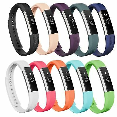 AU3.98 • Buy New Replacement Silicone Wristband Wrist Band Strap Bracelet For Fitbit Alta HR