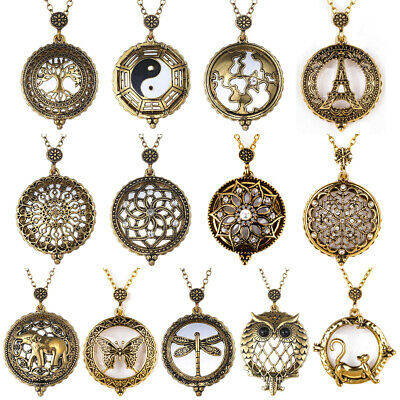 $ CDN2.88 • Buy Vintage Chain 5X Magnifying Glass Reading Sweater Necklace Magnifier Pendant
