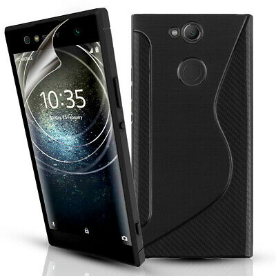 $ CDN4.91 • Buy Sony Xperia XA2 & XA2 Ultra Silicone Gel Phone Case Cover & Screen Protector