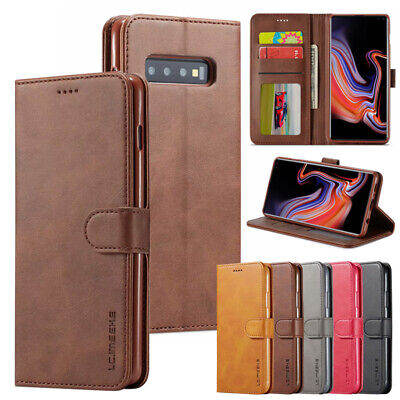 $ CDN6.29 • Buy Vintage Wallet Case Card Flip Cover For Samsung Galaxy S10e S9 S8+ S7 Note10+/9