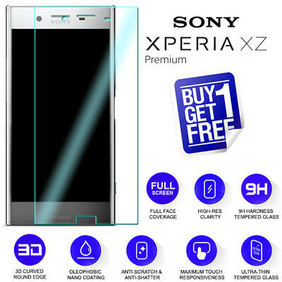 AU5.39 • Buy For Sony Xperia XZ Premium Tempered Glass Screen 9H Protector Film Clear G8141