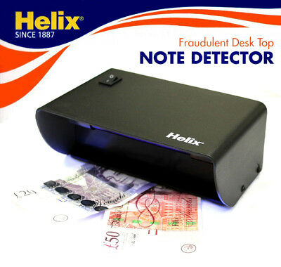 £8.95 • Buy Helix UV Light Fake/Counterfeit Money Bank Paper/Polymer Note Detector/Checker