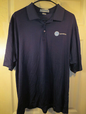 VW Chattanooga Navy Polo Shirt By Extreme Size 2XL • 11.20£