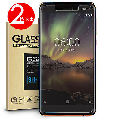 AU4.49 • Buy 2 PACK 9H Tempered Glass Screen Protector For Nokia 4.2/ 3.2/6.1/ 5.1 / 7.2/ 7.1
