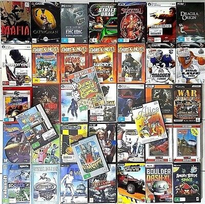AU39.90 • Buy PC Games *NEW / SEALED : Select Your Titles - FREE POST