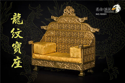 $109.99 • Buy Not Include Body1/6 Scale Emperor Dragon Chair Model Toy Throne Ancient NO.10001