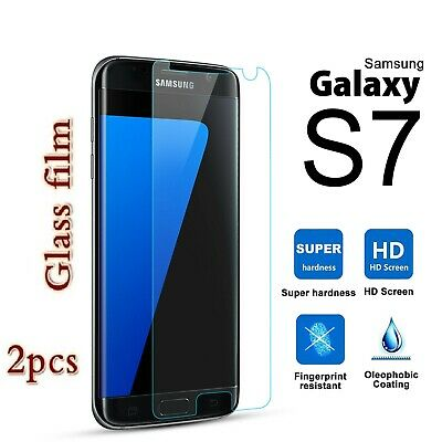 AU6.99 • Buy 2X For Samsung Galaxy S7 S8 S9 Plus Tempered Glass Screen Protector Guard Film