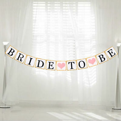 £3.59 • Buy Bride To Be Bunting Hanging Banner Wedding Party Garland Hen Night Decoration