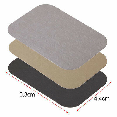 $2.02 • Buy Metal Plate Magnetic Car Phone Holder Accessories Stand For Magnet Phone Support