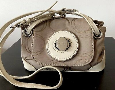 AU149.99 • Buy OROTON EMERIL Mini Crossbody Bag In Ivory/beige Rrp $345 Near New
