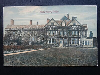 Yorkshire WHITBY Abbey House - Old Postcard By Ross Of Whitby • 7£