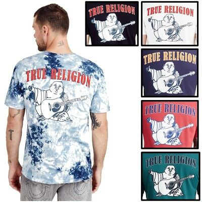True Religion Men's Buddha Logo Tee T-Shirt • 26.17£