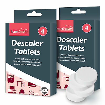View Details 8pk All Purpose Descaler Tablets Limescale Cleaning Coffee Machine Kettle Iron • 2.49£