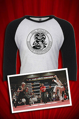 $26.99 • Buy Cobra Kai All Valley Karate Kid Championships 1984 Tee T-SHIRT FREE SHIP USA