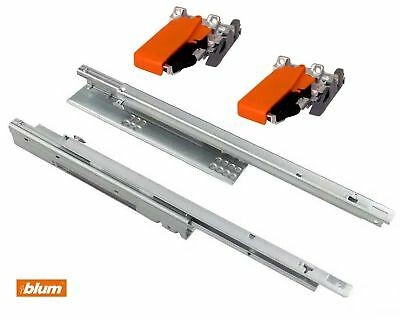 BLUM Tandem Runners 550H - Single Extension - Up To 30 Kg - Sizes 300mm-600mm • 20.49£