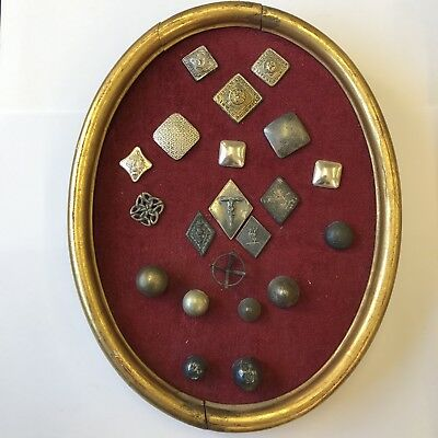 £149.95 • Buy Collection Of Rare And Unusual Antique Scottish Silver And Other Buttons