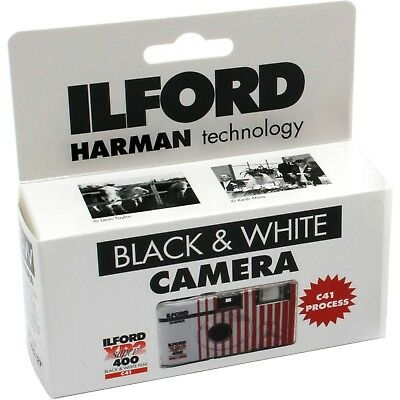 £10.37 • Buy Ilford XP2 Super Single Use Black And White Disposable Film Camera, 27 Exposures
