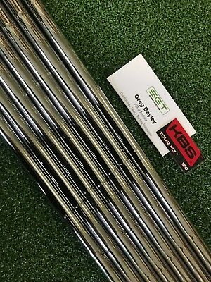 AU361 • Buy KBS TOUR FLT 120 Stiff Shafts Certified Dealer 4-P 7 Pieces .355 Taper Tip