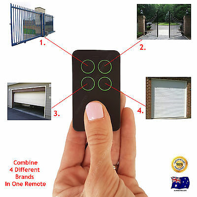 AU55 • Buy Universal Multiple Brand Frequency Remote Control Combine Gate & Garage Door .