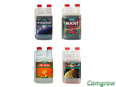 CANNA  Additives - Rhizotonic - Boost - PK 13/14 - CannaZym Plant Stimulators • 24.95£