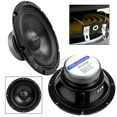 $ CDN31.50 • Buy 8  Subwoofer Speaker Replacement 8 Ohm Home Audio Or Dj Bass Driver Woofer New