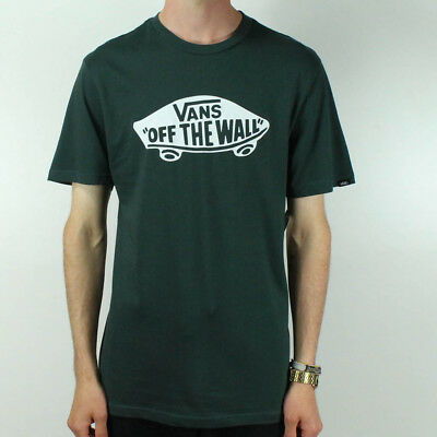 Vans Off The Wall T-Shirt Brand New - Green - Size S,M,L,XL • 19.99£
