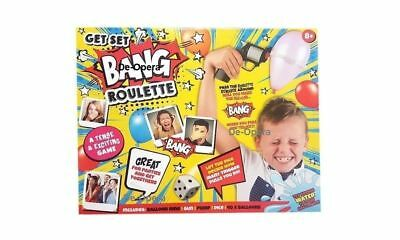 Bang Roulette Game - Russian Roulette Balloon Party Game Boys Girls Gift New • 8.99£