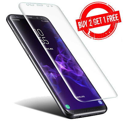 $ CDN3.95 • Buy Samsung Galaxy S9 Full Coverage Clear Case Compatible 3D Film Screen Protector