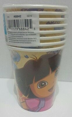 Dora The Explorer Birthday Party Cups 8ct  New • 2.29£