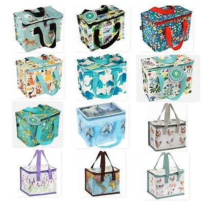 Thermal Travel Picnic Cool Zipped Lunch Bag Box Case School/Leisure 13x21x16cm • 3.99£