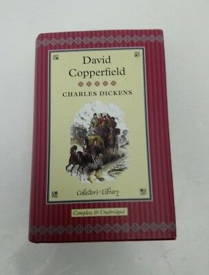 David Copperfield Charles Dickens Collectors Library Hardback • 9.99£