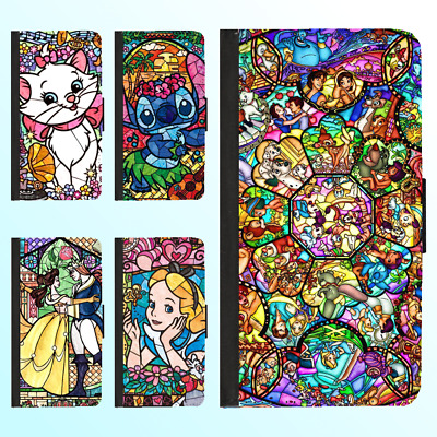 AU13.99 • Buy IPhone XS Max XR X 8 Plus 7 6 6s Leather Flip Wallet Case Disney Princess Cover