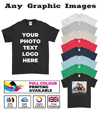 £5.99 • Buy Personalised T-Shirt Custom  Photo Your Text Picture Logo Stag Han Do Party Top